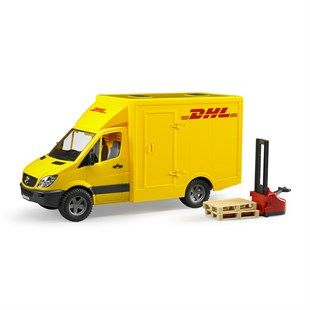 Bruder Mercedes Benz Sprinter Dhl Kamyonu Ve Transpalet
