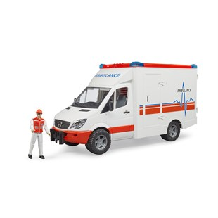 Bruder Mercedes Benz Sprinter Ambulans Ve Ekibi BR02536